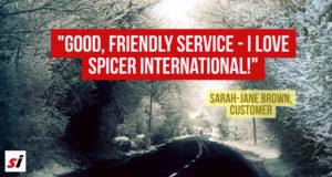 Spicer International testimonial