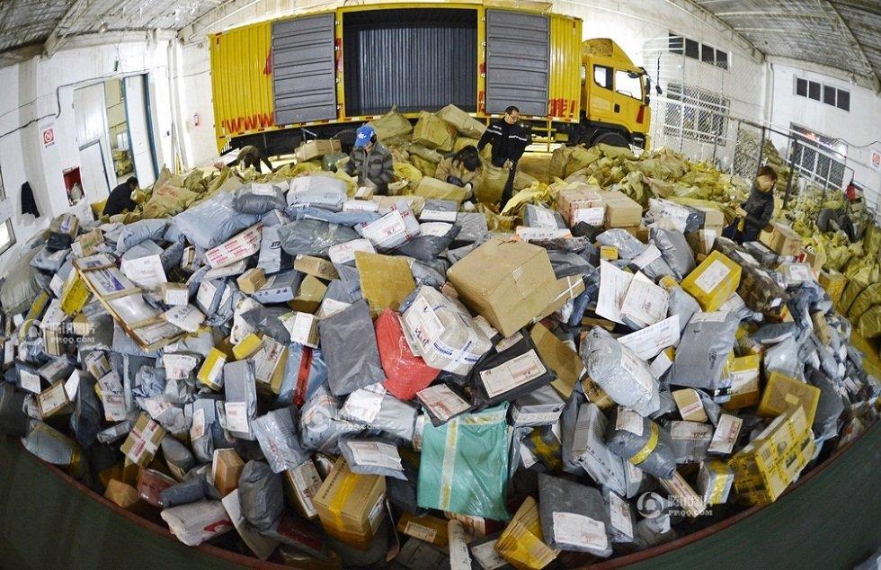 Breaking the billion parcel barrier