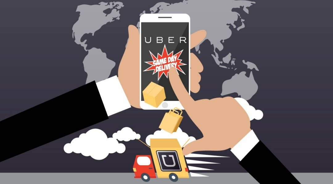 Deliveries – It's all Uber now?