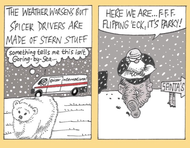 Christmas Comic Strip!